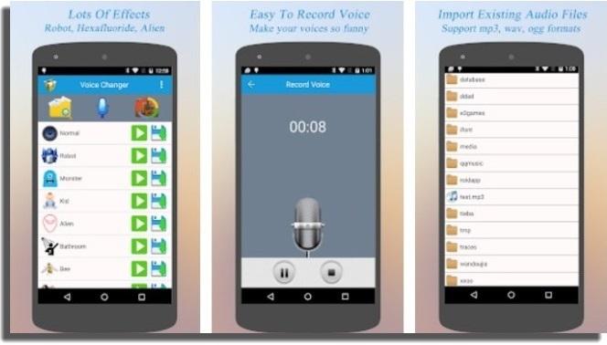 cambiar la voz mejor cambiador de voz