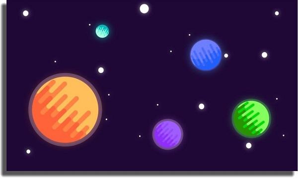 fondo de pantalla planetas