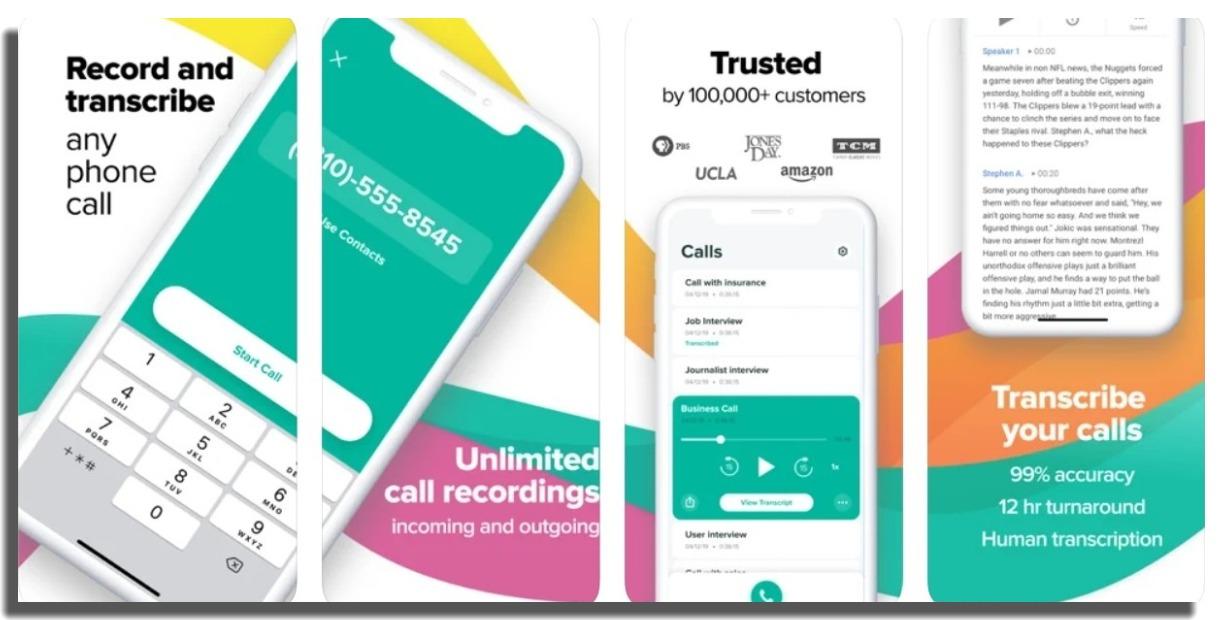 Rev Call Recorder iOS