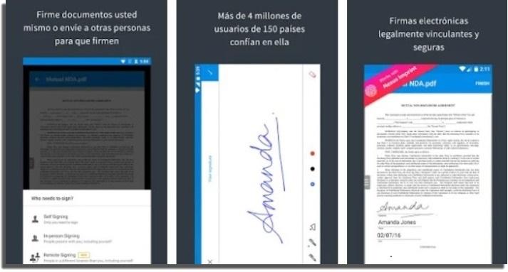firma digital signeasy