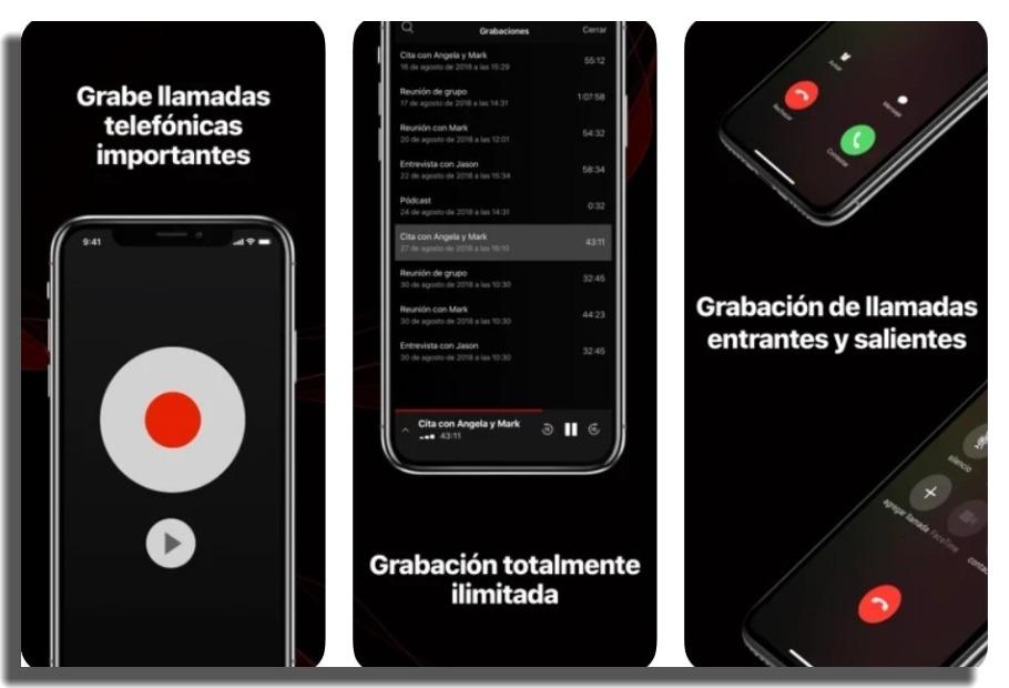 TapeACall Pro grabar llamadas en iPhone