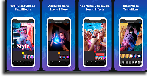 Video FX video editing apps for iPhone