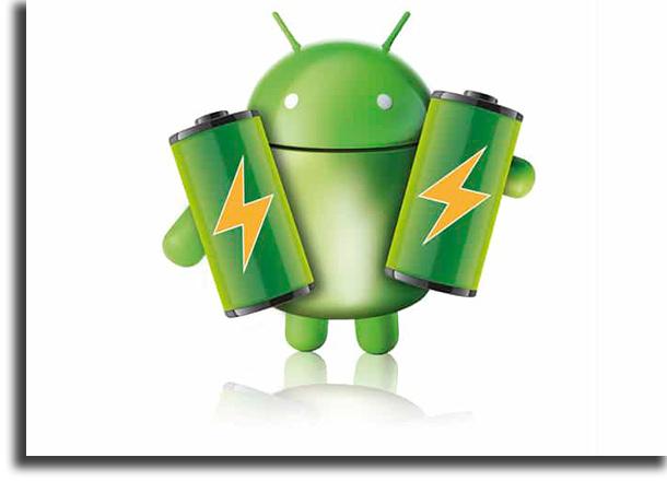 problemas más comunes en Android batería
