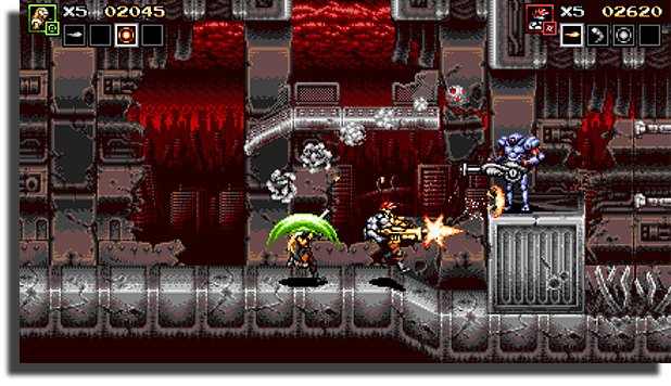Blazing Chrome best couch co-op games