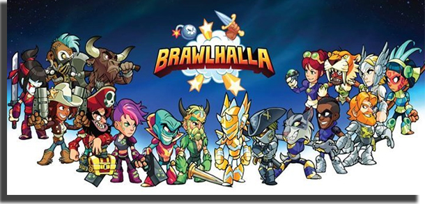 Brawhalla best couch co-op games