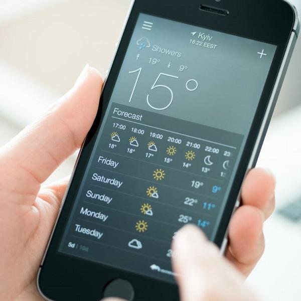 10 melhores apps grátis para previsão do tempo