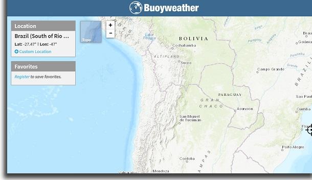 apps de previsão de tempo