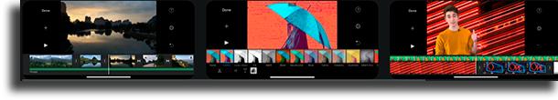 editores de video para iPhone iMovie