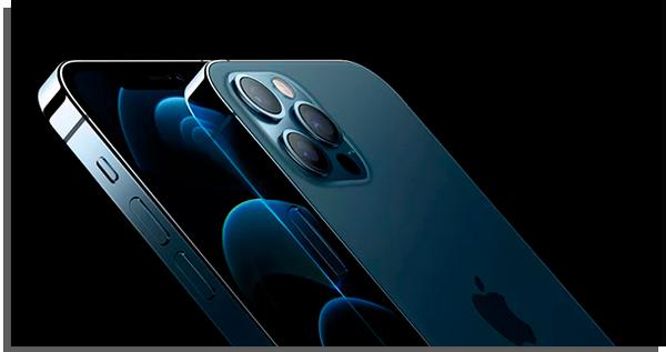 visual do iphone 12