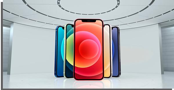 cores dos modelos do smartphone da apple