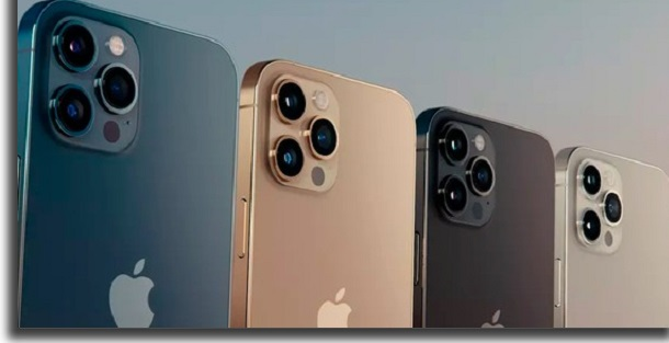 modelos do iphone 12