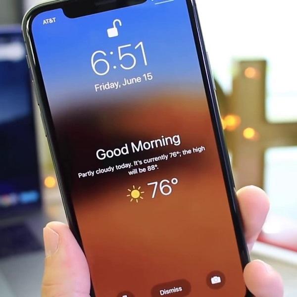 Previsão do tempo no iPhone: como colocá-la na tela bloqueada