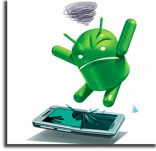 problemas más comunes en Android sistema lento