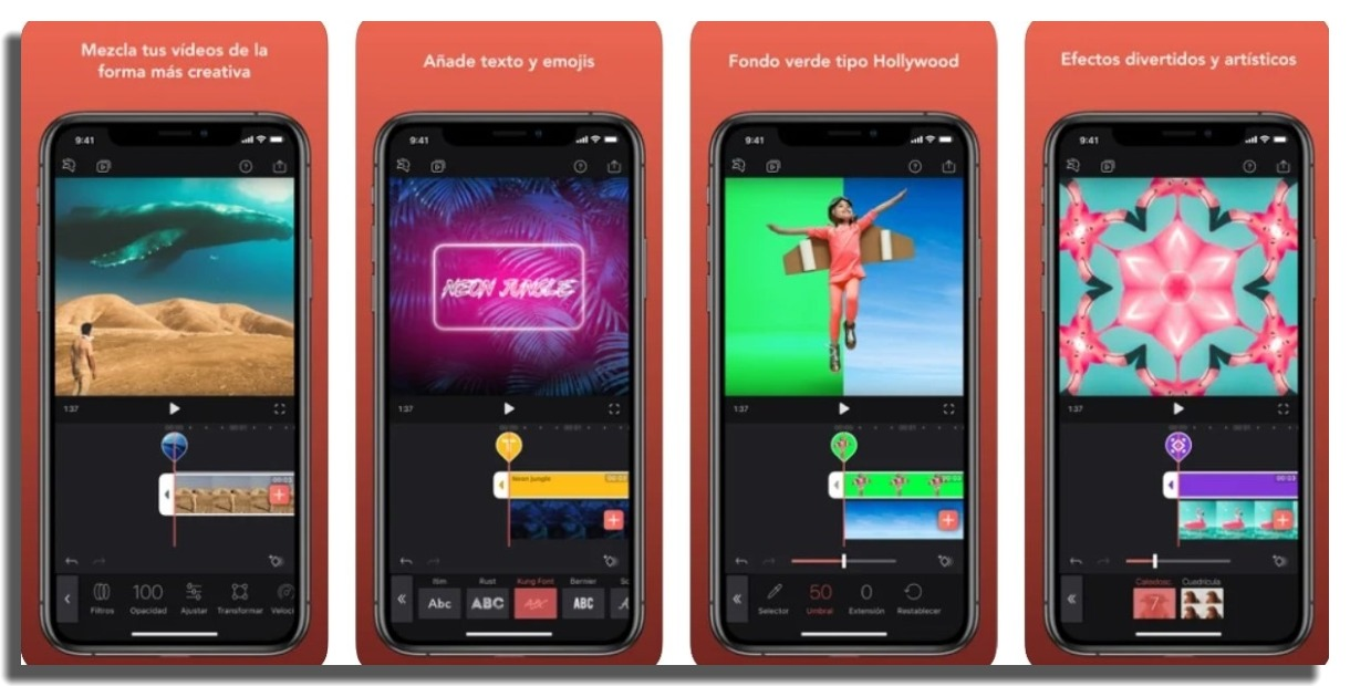 videoleap app de edición