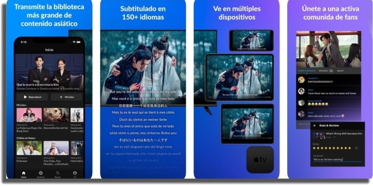 ver películas y series en iOS Viki