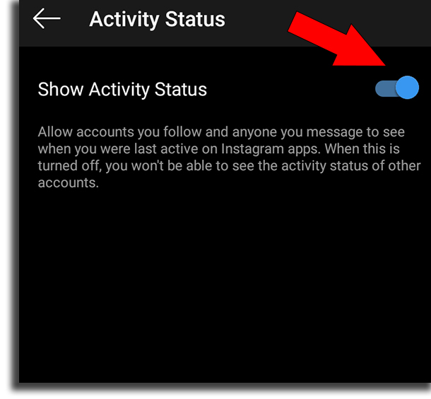 How to not appear online to your contacts