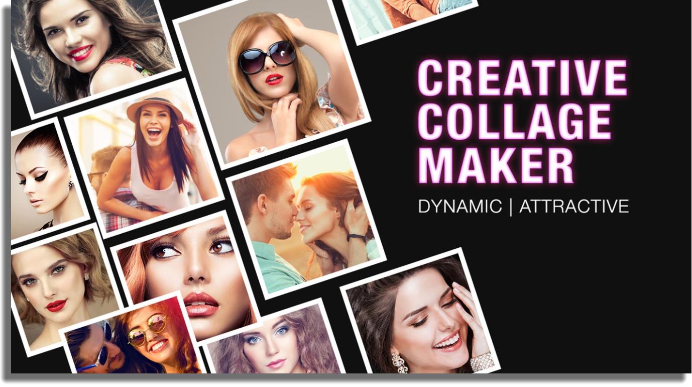 hacer collages de fotos en Windows Blend Collage