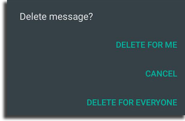 Delete messages WhatsApp tips and tricks