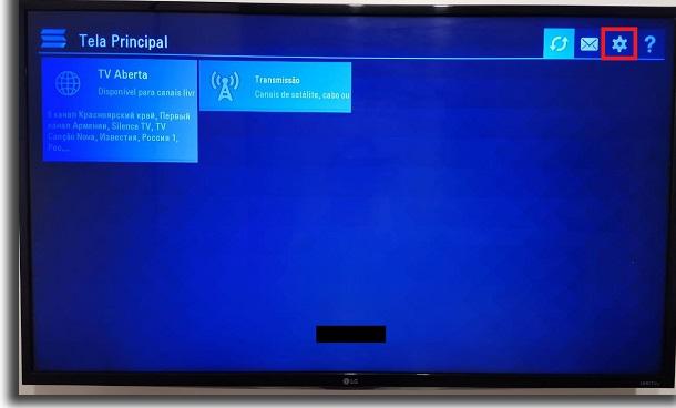 IPTV na Smart TV configurações
