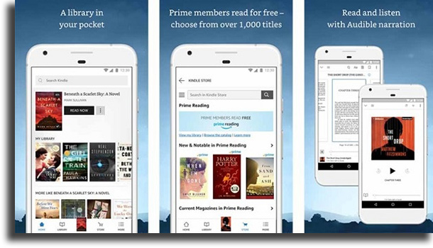 Kindle best free Android apps