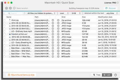 diskdrill es una aplicación para recuperar archivos