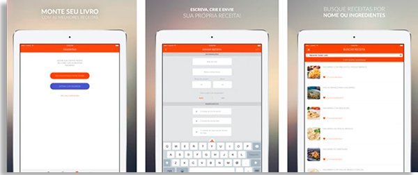 tela inicial do app grátis tudogostoso