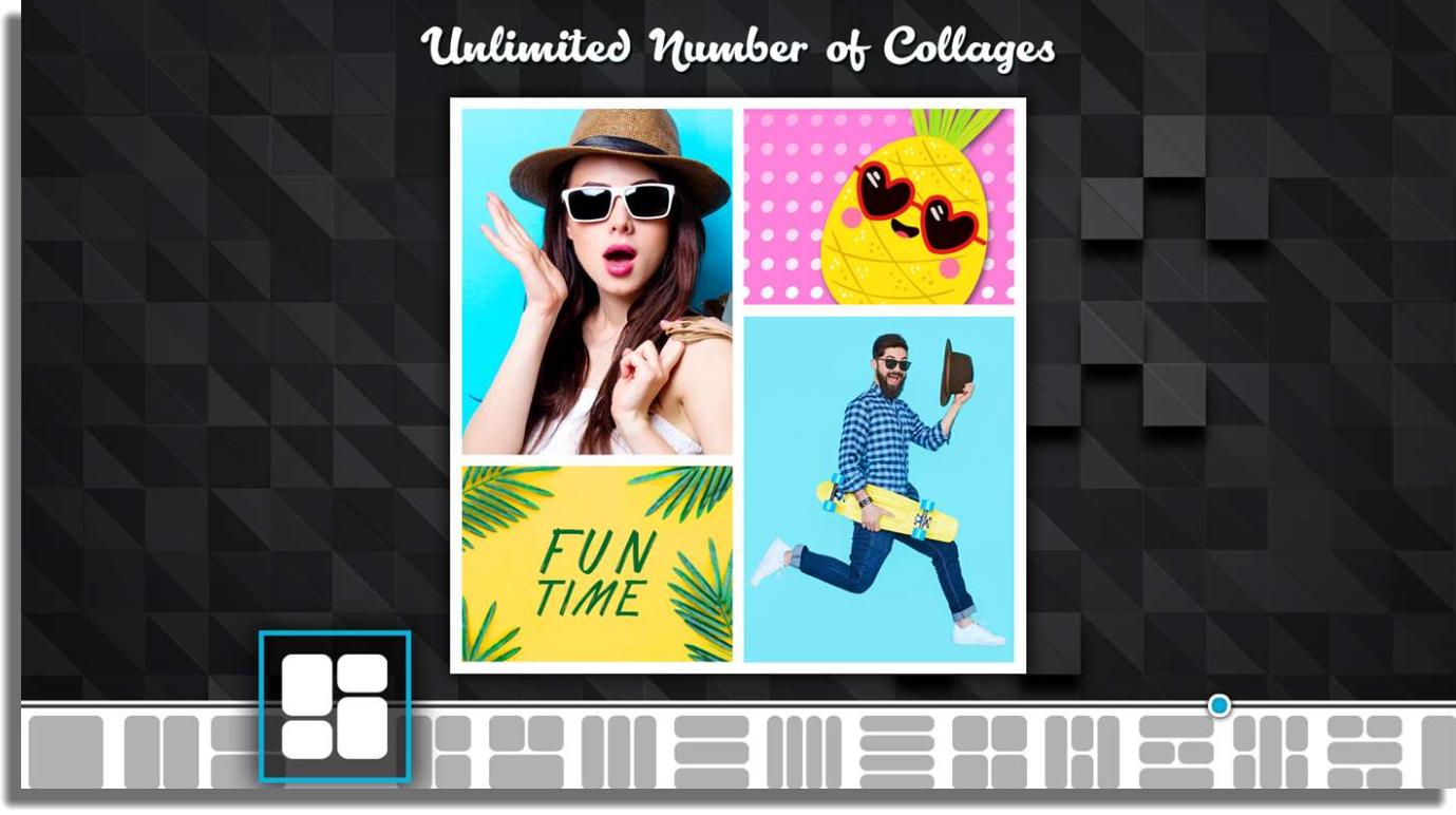 hacer collages de fotos en Windows Collage Maker