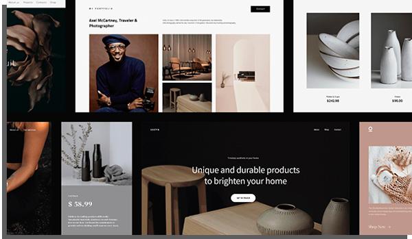o zyro é um criador de loja virtual para que você possa trabalhar em casa e ganhar dinheiro vendendo produtos online