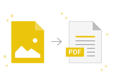 cover convert images into PDF on Windows