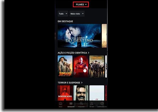 criar conta na HBO Go navegador