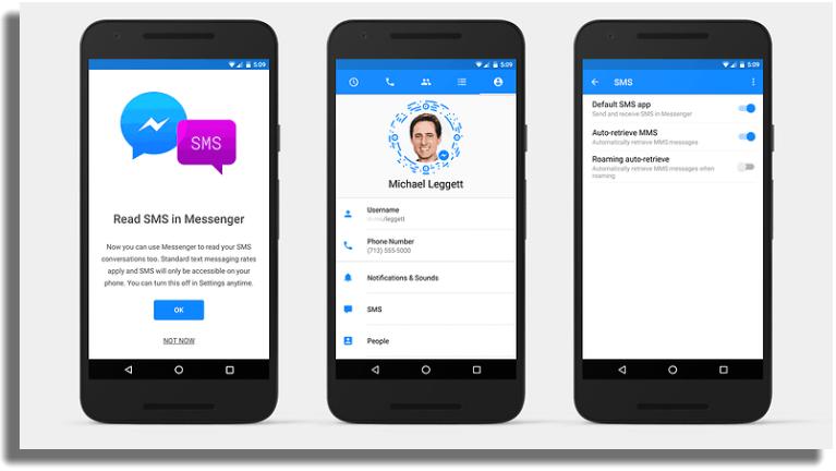 Facebook Messenger aplicaciones gratuitas para Android