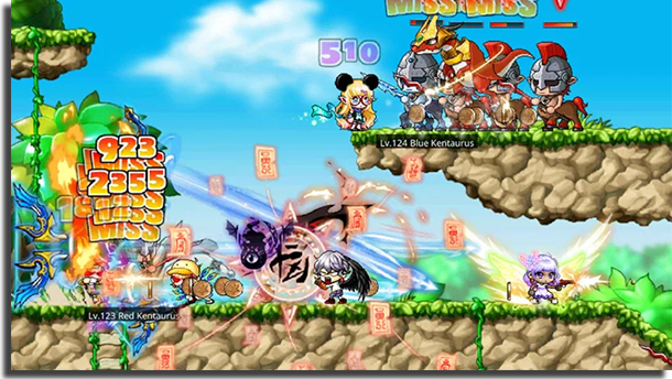 MapleStory M best Android MMORPG games