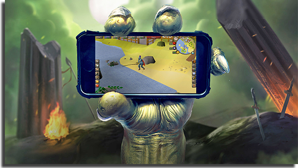 Old School RuneScape best Android MMORPG games