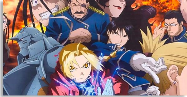 fullmetal alchemist brotherhood é um anime, mas ainda assim um dos melhores seriados de ficção científica