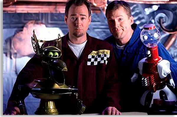 mystery science theater mistura ficção cientifica com comédia