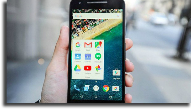 captura de pantalla Android