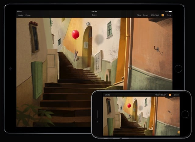 Pixelmator drawing apps for iPad