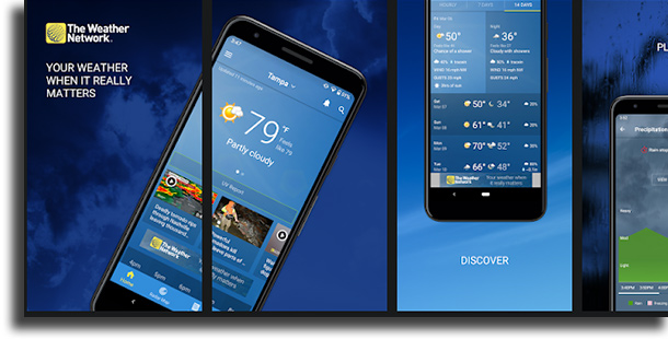The Weather Network best weather forecast apps