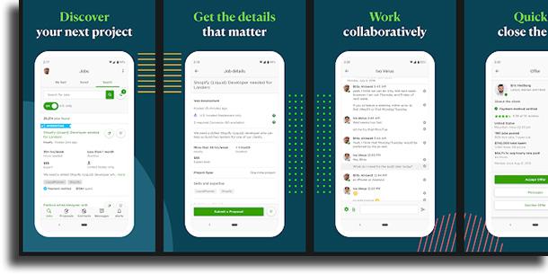 UpWork apps to make money