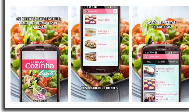 melhores apps de sobremesa