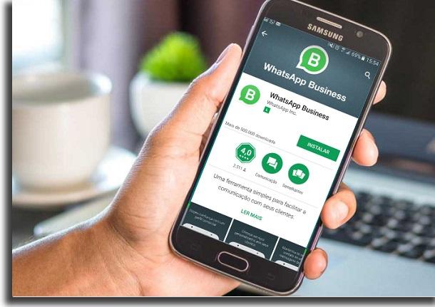 usar o whatsapp business