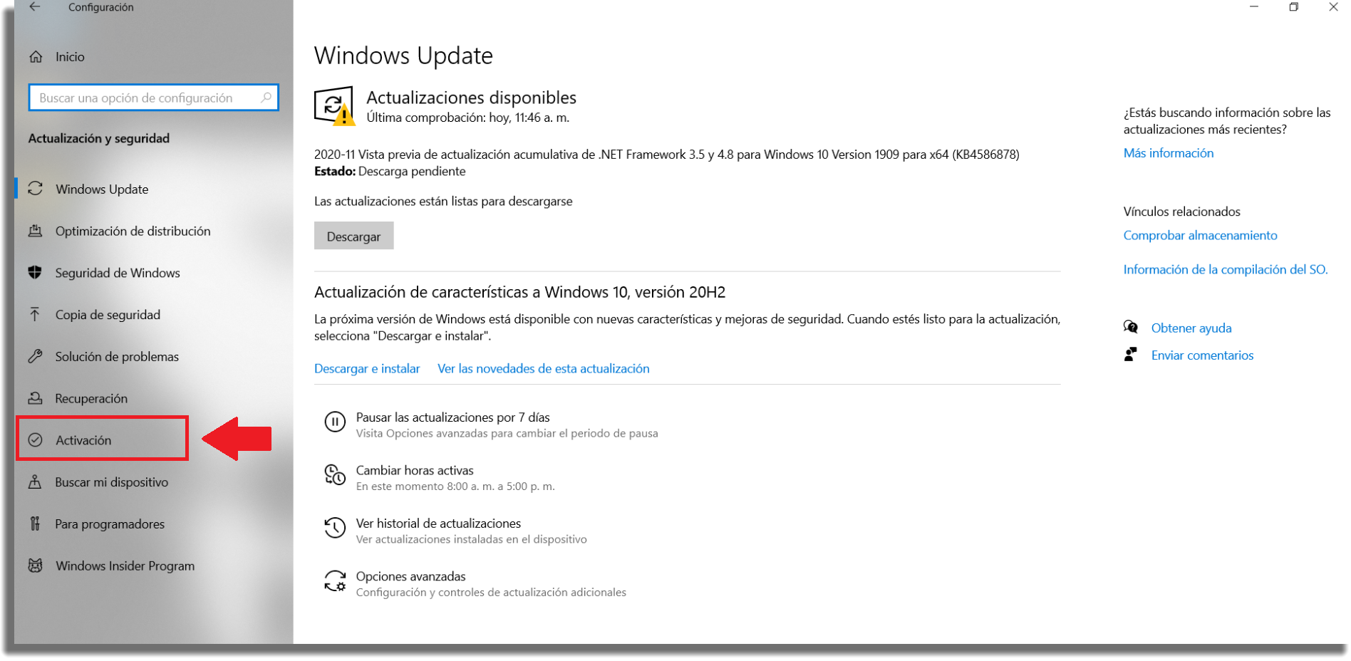 activar clave licencia Windows