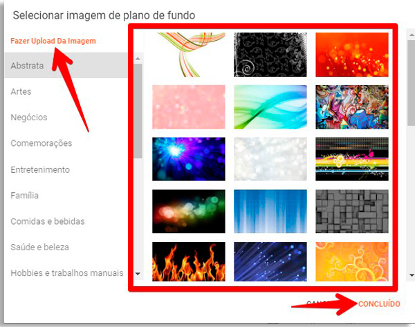 faça a personalização do seu site grátis no google