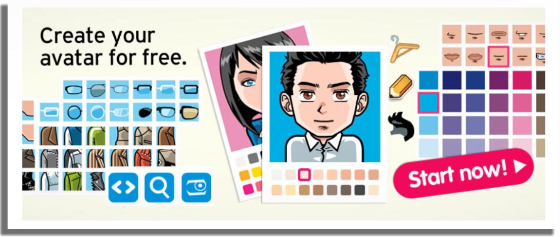 sitios y apps para crear tu propio avatar Face Your Manga