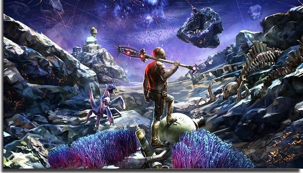 jogos offline para jogar no PC outer worlds
