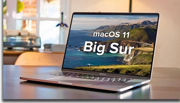lentidão do macos big sur macbook
