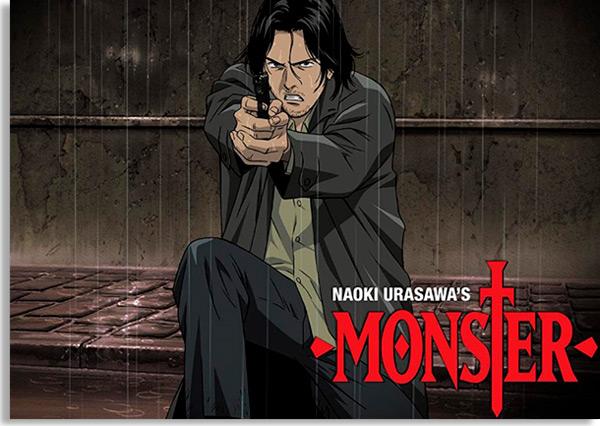 monster é um anime, mas ainda assim um dos melhores seriados de suspense