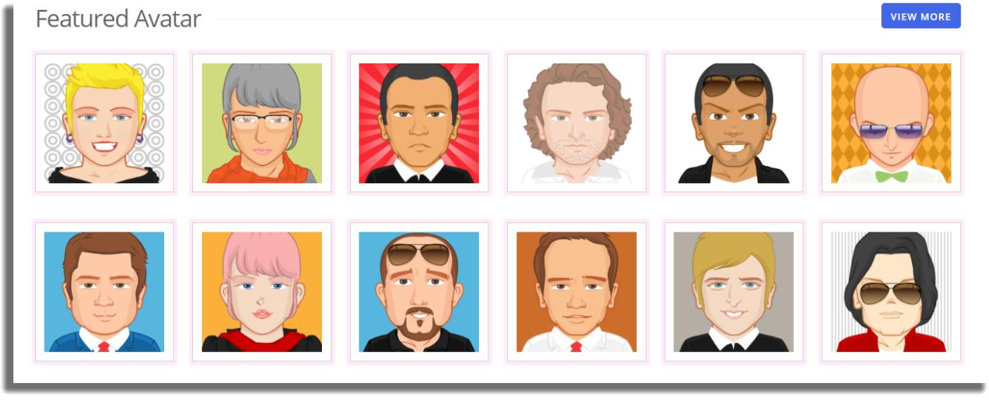 PickaFace sitios y apps para crear tu propio avatar