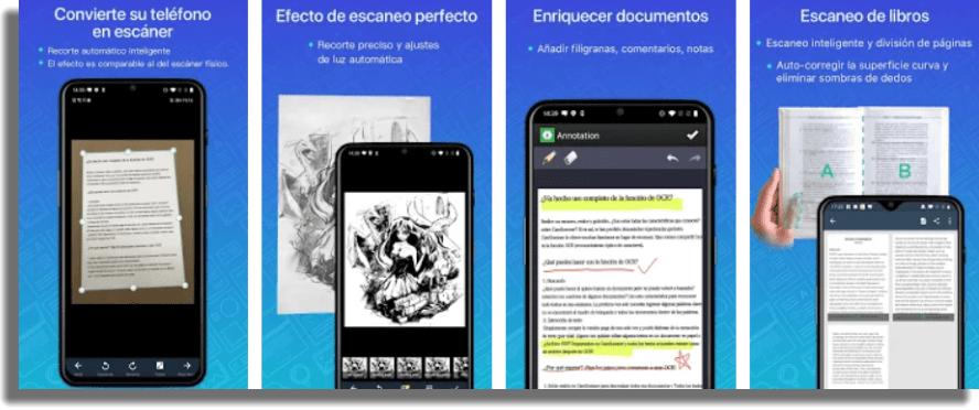 CamScanner Escanear documentos en Android