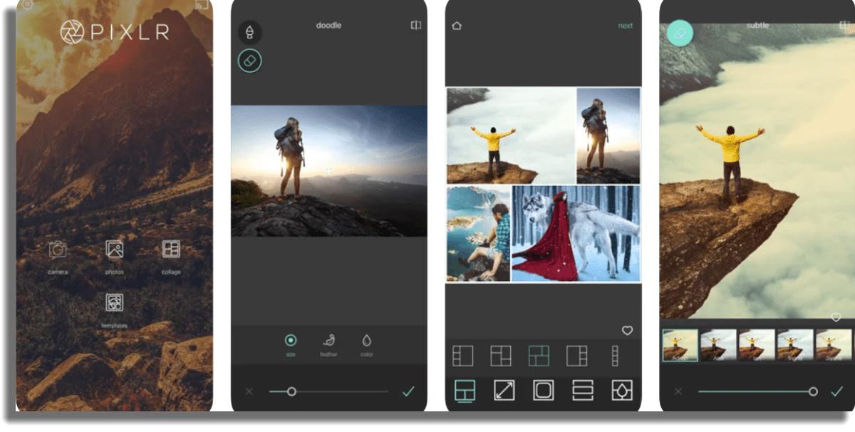 Pixlr Aplicaciones gratuitas para iPhone